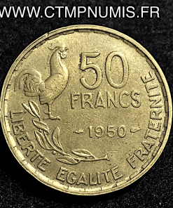 50 FRANCS G.GUIRAUD 1950 RARE