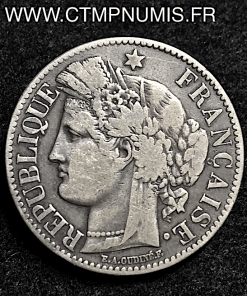 2 FRANCS CERES AVEC LEGENDE 1871 GRAND K