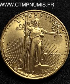 USA 50 DOLLARS 1 ONCE OR FIN 31,1 gr NEUVE