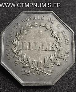 JETON ARGENT CAISSE D'EPARGNE DE LILLE 1834