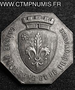 JETON ARGENT CAISSE D'EPARGNE DE LILLE 1902