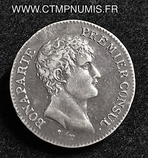 1 FRANC ARGENT CONSUL AN 12 A PARIS TTB