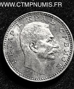 SERBIE 50 PARA ARGENT 1904 SUP+