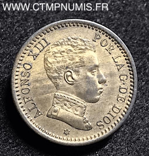 ESPAGNE 2 CENTIMOS ALPHONSE XIII 1905 SPL