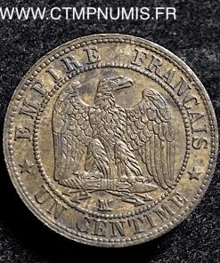 1 CENTIME NAPOLEON III 1856 MA MARSEILLE