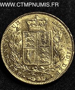 GRANDE BRETAGNE 1 SOUVERAIN VICTORIA 1842