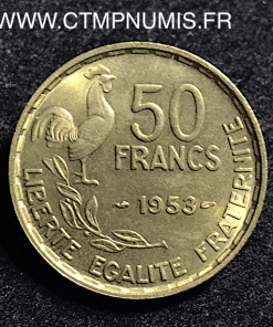 50 FRANCS G. GUIRAUD 1953 SUP+
