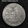 5 SOLS ARGENT LEFEVRE LESAGE 1792