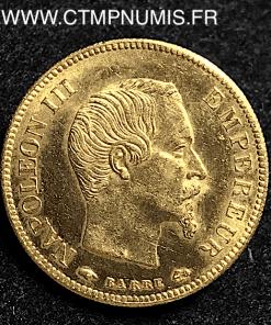 10 FRANCS OR NAPOLEON III 1857 A PARIS