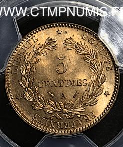 5 CENTIMES CERES 1893 A PARIS FDC MS65