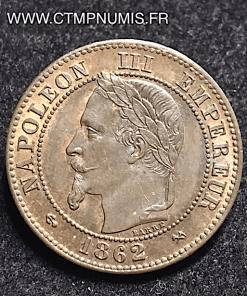 2 CENTIMES NAPOLEON III 1862 K BORDEAUX SUP+
