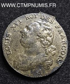 REVOLUTION LOUIS XVI 12 DENIERS 1791 A PARIS
