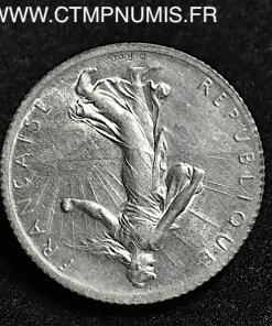 1 FRANC ARGENT SEMEUSE 1915 FRAPPE MEDAILLE
