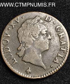 LOUIS XV SOL VIEILLE TETE 1774 M TOULOUSE