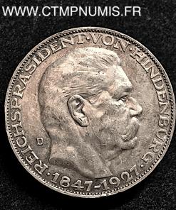 ALLEMAGNE MODULE 5 MARK HINDENBUURG 1927