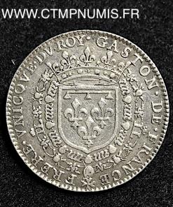 JETON ARGENT DOMBES GASTON D'ORLEANS 1636