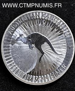AUSTRALIE 1 ONCE ARGENT FIN KANGOUROU 2018