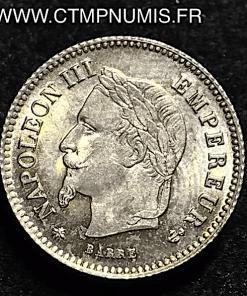 20 CENTIMES ARGENT NAPOLEON III 1867 A PARIS