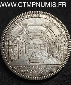JETON ARGENT JACQUES AUGUSTE DE THOU 1861