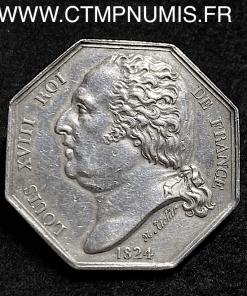 JETON LOUIS XVIII COMMERCE DU HAVRE 1824