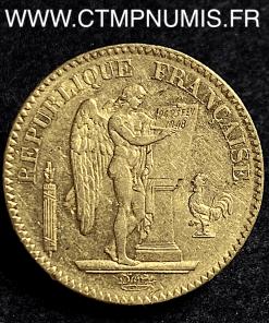 20 FRANCS OR GENIE II° REPUBLIQUE 1848 A PARIS