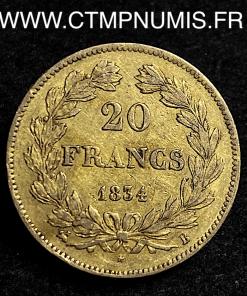 20 FRANCS LOUIS PHILIPPE I° 1834 B ROUEN