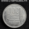 ALGERIE ESSAI 100 FRANCS CUPRO-NICKEL 195O