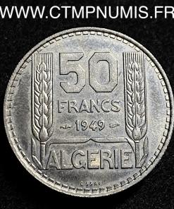 ALGERIE ESSAI 50 FRANCS CUPRO-NICKEL 1949