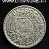 MAROC ESSAI 20 FRANCS CUPRO-NICKEL 1366