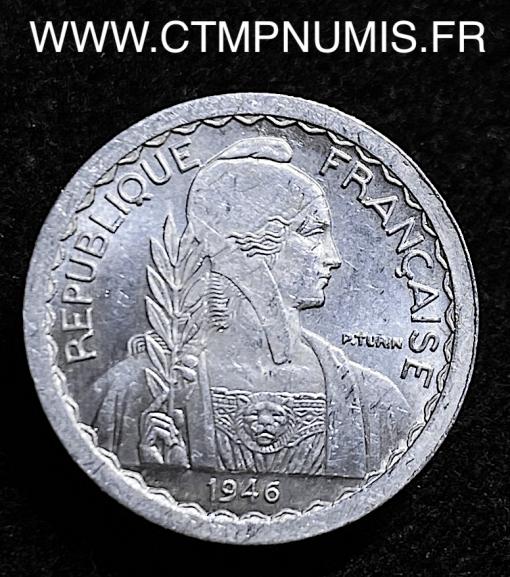 INDOCHINE ESSAI 5 CENTIMES ALUMINIUM 1946