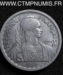INDOCHINE ESSAI 20 CENTIMES ALUMINIUM 1945