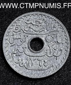 TUNISIE ESSAI 20 CENTIMES ZINC 1945