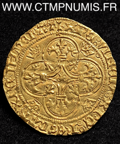 CHARLES VII ECU D'OR COURONNE TOULOUSE