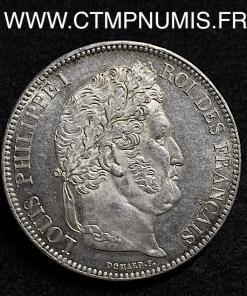 5 FRANCS ARGENT LOUIS PHILIPPE I° 1833 A PARIS