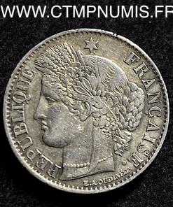50 CENTIMES ARGENT CERES 1851 A PARIS