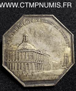 JETON AGENTS DE CHANGE DE BORDEAUX 1835