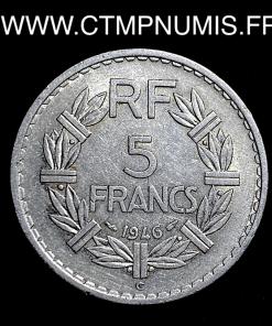 5 FRANCS LAVRILLIER 1946 C CASTELSARRAZIN
