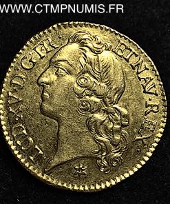 LOUIS XV LOUIS OR AU BANDEAU 1741 TOULOUSE