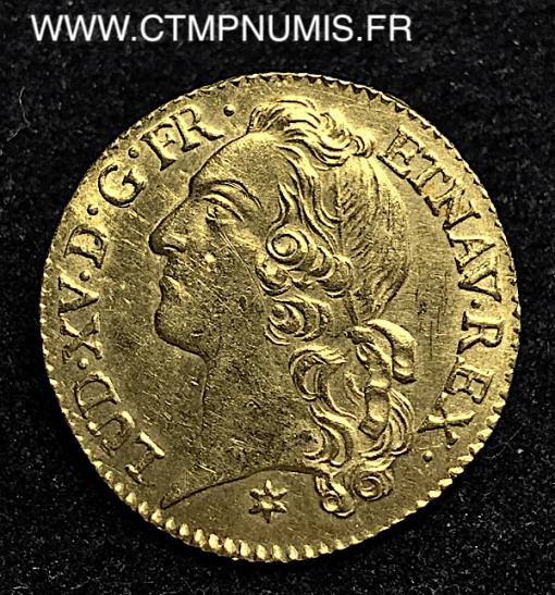 LOUIS D'OR AU BANDEAU 1742 M TOULOUSE