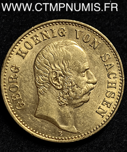 ALLEMAGNE SAXE 20 MARK OR GEORGE 1903 E