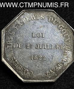 JETON ARGENT COMMISSAIRES EXPERTS 1831