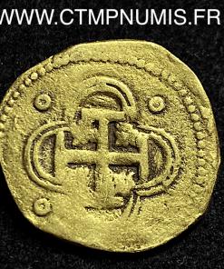ESPAGNE PHILIPPE II 2 ESCUDOS 1597 S. B SEVILLE
