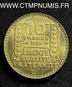 ESSAI 10 FRANCS TURIN BRONZE ALUMINIUM 1929