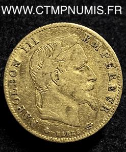 5 FRANCS OR NAPOLEON III 1864 A PARIS