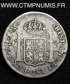 MEXIQUE 2 REALES FERDINAND 1822 GUANAJUATO