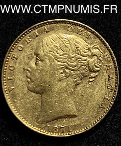 GRANDE BRETAGNE SOUVERAIN OR VICTORIA 1871