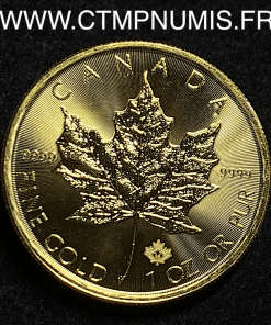 CANADA 1 ONCE OR PUR 31,1 gr 2016 SPL