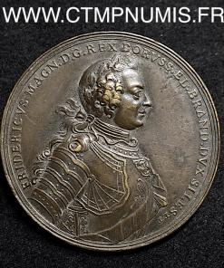 PRUSSE FREDIRIC II BATAILLE PRAGUE 1757