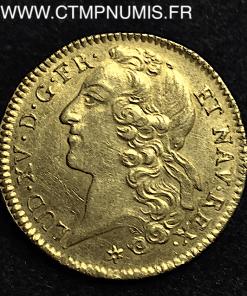 DOUBLE LOUIS OR AU BANDEAU 1764 TOULOUSE